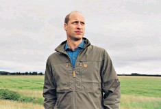 ??  ?? Forward thinking: the Duke of Cambridge presented ITV'S A Planet For Us All