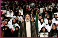 ??  ?? Ebrahim Raisi has just won a landslide victory in Iran's presidential elections