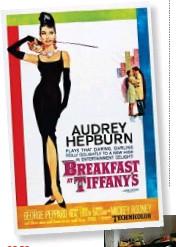 ??  ?? 1961 Colazione da Tiffany L'indimenticabile silhouette di Audrey Hepburn nella locandina della commedia tratta dall'omonimo romanzo di Truman Capote.