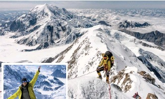 ?? SUPPLIED ?? MOUNTAIN climber Remy Kloos plans to be the first African woman to complete a double summit within 24 hours. |