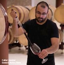 ??  ?? Cellar master Gerard Aviles Pons