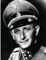 ?? (Wikimedia) ?? ADOLF EICHMANN, the Nazi commander, and the only person to ever receive the death penalty in Israel. He was hanged in 1962.