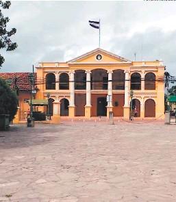 ?? FOTO: EL HERALDO ?? La alcaldía de Comayagua, como otras del departamento, no recibe fondos para los triajes desde septiembre del año pasado.