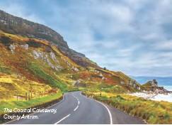 ??  ?? The Coastal Causeway, County Antrim.