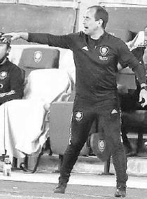?? STEPHEN M. DOWELL/ORLANDO SENTINEL 2020 ?? Coach Oscar Pareja will lead Orlando City into today's home opener against Atlanta United.