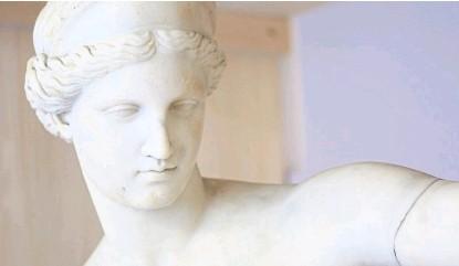 """?? Ignacio sánchez ?? De cerca, el público podrá apreciar la belleza y los """"moretones"""" del tiempo en el mármol"""