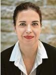 ?? Foto: Konsulat ?? Generalkonsulin Sandra Simovich setzt sich für den deutsch‰israelischen Ju‰ gendaustausch ein.