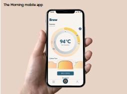 ??  ?? The Morning mobile app