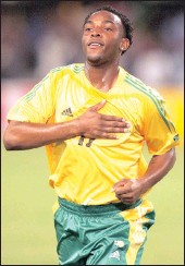 ??  ?? McCarthy is Bafana's leading scorer with 32 goals.