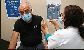 ??  ?? Par rapport à décembre, davantage de Français souhaitent se faire vacciner.