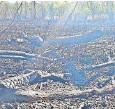 ?? FOTO: MATTHIAS PUPPE ?? Alles verkohlt: Das Schönauer Waldgebiet nach dem Brand.