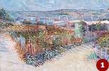 ??  ?? 1 Vincent van Gogh, «Montmartre dietro il Moulin de la Galette», (1887)