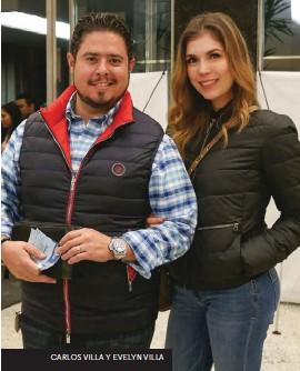 ??  ?? CARLOS VILLA Y EVELYN VILLA ALEXIS SIERRA Y AURA AYALA