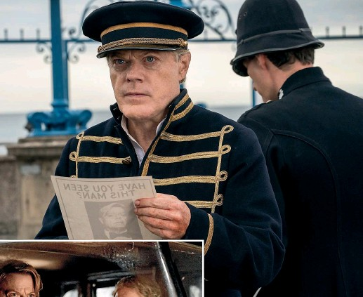 ??  ?? Eddie Izzard's spy thriller Six Minutes to Midnight, in which she stars with Dame Judi Dench, is based on a real school near the area where the actor spent much of her childhood.