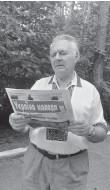 ??  ?? Чверть століття передплатником «України молодої» є Герой України Анатолій Паламаренко.