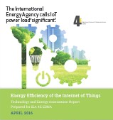 ??  ?? The International Energy Agency calls IoT power load 'significant'.