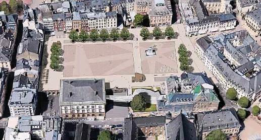??  ?? Die Place Guillaume II erhält in den kommenden Jahren ein neues Aussehen.