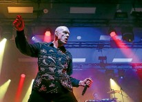 ??  ?? Peter Garrett ''once had a penpal in Gisborne. There's your Kiwi connection, so that's it.''