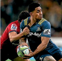 ?? PHOTO: GETTY IMAGES ?? Malakai Fekitoa will farewell the Highlanders at the end of the Super Rugby season for Toulon.