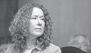 ?? ALEX BRANDON/ AP ?? Tracy Stone- Manning, nominated to direct the Bureau of Land Management, at her confirmation hearing in Washington last month.