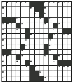Pressreader Edmonton Sun 2019 01 18 Crossword