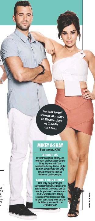 Instant Hotel Shay And Mikey