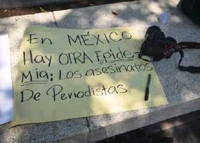 ??  ?? De 2000 a la fecha, en México. ha documentado 138 asesinatos de periodistas