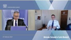 ??  ?? Antonio Ferraioli e Carlo Bonomi