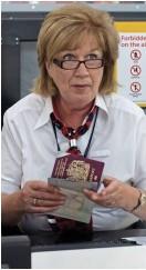 ??  ?? CRACKDOWN: Border checks
