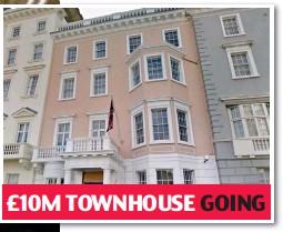 ?? Pictures: BACKGRID/LAURA LEAN/LNP/REX/SHUTTERSTOCK ?? £10M TOWNHOUSE GOING