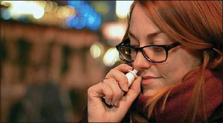 ??  ?? ##JEV#36-248-https://tinyurl.com/y5plazlw##JEV# Le spray développé par Pharma & Beauty promet de réduire la charge virale des écoulements nasaux.