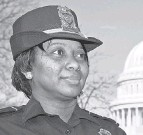 """?? J. SCOTT APPLEWHITE/ AP ?? Yogananda Pittman, acting Capitol Police chief, said officers performed bravely during the assault Jan. 6, but """"many are understandably struggling."""""""