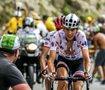 ??  ?? Warren Barguil won two Tour stages and the KoM while with Dutch team Sunweb