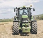 ??  ?? 2 More and more farms operate hi-tech systems with GPS system in tractors – which are being targeted by criminal gangs