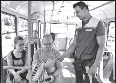 ??  ?? Всех кондукторов, которых в Киеве было около тысячи, пообещали трудоустроить