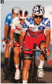 ??  ?? 2 Rey de la montaña. En la Vuelta a España 2020 se proclamó mejor escalador con el triple de puntos que el segundo clasificado.