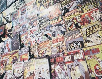 ??  ?? Your old comics may be worth a mint (photo: Shuttersto­ck/Alexandru Niku)