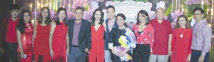 ?? PHOTOS FROM VARIOUS INSTAGRAM,FACEBOOK AND YOUTUBE POSTS ?? She may be regarded 'Ina Ng Pelikulang Pilipino' or the Mother of Philippine Cinema, but to this loving family, she is simply their ever devoted 'Mommy'