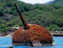 ??  ?? Paisaje arqueológico subacuático. Monumento Nacional.