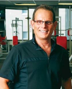 ??  ?? LEFT Ron Zalco in his fitness studio in Vancouver