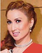 ?? FILE PIC ?? Actress Maria Farida filed a suit against a cosmetics businesswoman and her daughter last year.