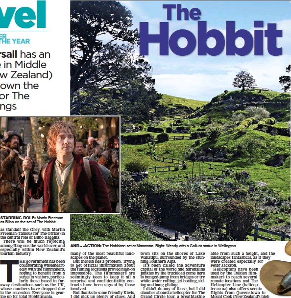 Pressreader The Scottish Mail On Sunday 2012 11 11 The Hobbit