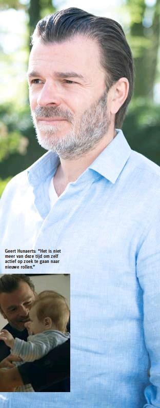 """??  ?? Geert Hunaerts: """"Het is niet meer van deze tijd om zelf actief op zoek te gaan naar nieuwe rollen."""""""