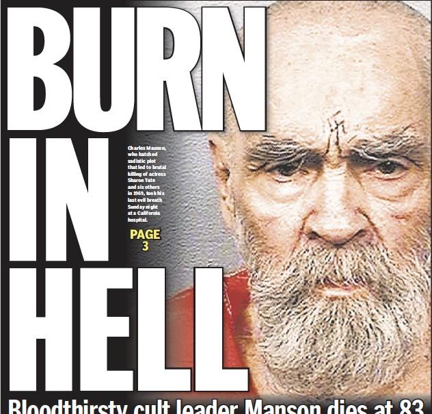 Pressreader New York Daily News 2017 11 20 Burn In Hell