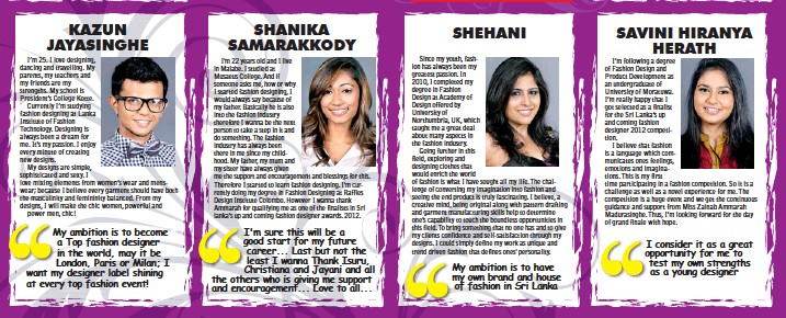 Pressreader Daily Mirror Sri Lanka 2012 12 13 Zainab Ammarah Sri Lanka S Up Coming Fashion Designer Of The Year
