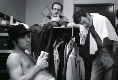 """??  ?? TEAM OF RIVALS Van Zandt, Landau, and Springsteen backstage in Brussels, 1981. """"At the time, I was hurt by the thought that maybe Jon resented my complete direct access to Bruce,"""" Van Zandt writes. """"In the end, I don't think Jon had anything to do with the way things changed. There comes a time when people want to evolve without any baggage."""""""