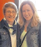 ?? CONTRIBUTED ?? When Trina Hartlen met her birth mother, Wendy Spencer, they showed up dressed almost identically. Unfortunately, Wendy died less than a year after connecting with her daughter.