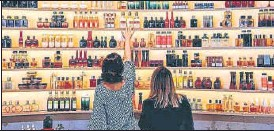 ??  ?? A file photo of a cosmetics shop. Nykaa may file for an IPO by early July and list in March quarter.