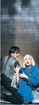 ?? Foto: Barbara Pálffy ?? Fortissimo und leise Töne: Rodrigo Porras Garulo und Erica Eloff.