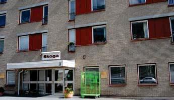 ?? FOTO: LEIF OLDENBURG ?? SMITTA. Ett fåtal fall av covid-19 har bekräftats bland boende på äldreboendet Skoga.
